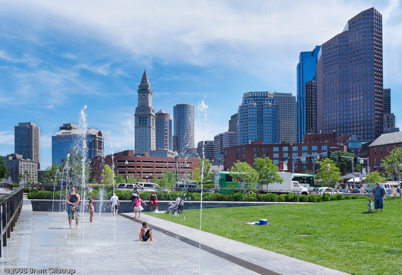 """""""Downtown from the North""""<br /> Boston, MA<br /> <br /> Section: Professional Enlargements<br /> Class: City Landscapes<br /> Place: -none-"""