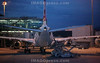 Ein Flugzeug der Swiss auf dem Landeanflug frühmorgens um 5:14 Uhr auf den Flughafen Zürich.