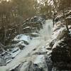 Icy Dingmans Falls --<br /> Delaware Water Gap National Recreation Area