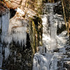 Icy Silver Thread Falls --<br /> Delaware Water Gap National Recreation Area