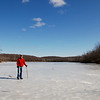 Frozen Sunfish Pond --<br /> Appalachian Trail, Worthington State Forest