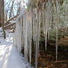 Icicles --<br /> High Point State Park