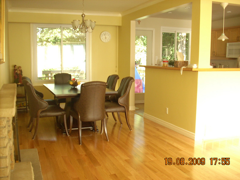 Dining Room (Main Level, walk out to deck - backyard)