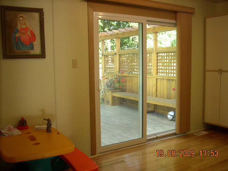 Office (Lower Level, walk out to backyard)