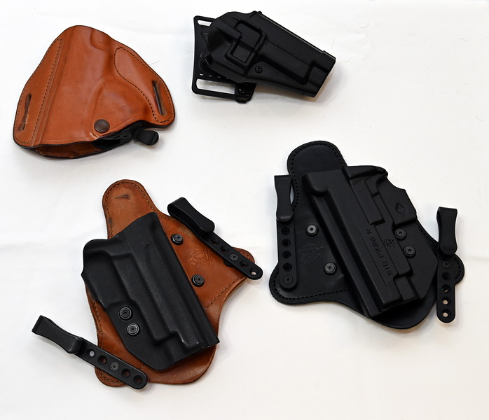 CCW IW Holsters and OW holsters for Sig Sauers