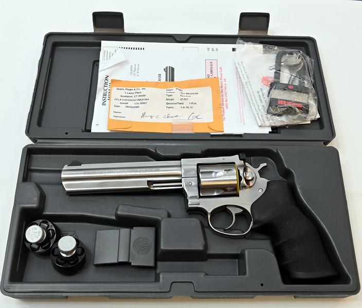 Ruger GP100 6-shot 357 Magnum Revolver