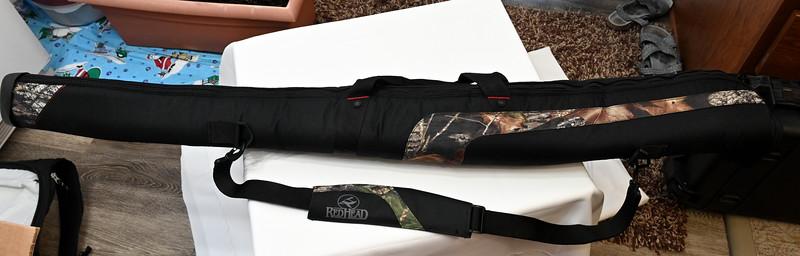 Soft case for Mossberg 12 ga shotgun