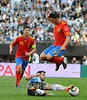Argentina - Espania : Javier Alejandro Mascherano . / Argentinien: Der argentinische Fiussballspieler Javier Alejandro Mascherano im Länderspiel gegen Spanien . © Gaston Renis/LATINPHOTO.org