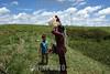 Brasil - Amazonia : Raimundo Azevedo (CHE) lider dos Integrantes do MST (Movimento dos Trabalhadores Sem Terra) conflito, fazenda Cedro na rodovia PA 150 em Maraba Sul do Para 2 Marco 2009 . Agua. / Brazil: Landless Workers' Movement. / Brasilien: Bewegung der Landarbeiter ohne Boden. Wasser . © Edinaldo Silva/LATINPHOTO.org
