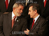 Portugal - Estoril : Brazilian president Luis Inacio Lula da Silva and Andorra's Head of Government Jaume Bartumeu Cassany gather for the family picture of the XIX Ibero-American Summit on November 30, 2009 in Estoril . Heads of state and government leaders of Portugal, Spain, Andorra and South American countries gather in Estoril, outskirts of Lisbon, for the XIX Ibero-American Summit from November 29 to December 1, 2009. / Cumbres Iberoamericanas. / XIX Iberoamerika-Gipfel in Estoril eröffnet . © Paulo Amorim/LATINPHOTO.org