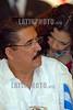 Nicaragua : Presidentes del ALBA suscriben acuerdos y condenan el golpe de estado al presidente de Honduras Manuel Zelaya . / Manuel Zelaya spricht mit Ortegas Ehefrau Rosario Murillo. © Oscar Navarrete/LATINPHOTO.org