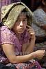 Guatemala : Indigena apoyando en el Dia a la no violencia en Ciudad de Guatemala . / Indigene Frau während einer Protestaktion gegen Gewalt in Guatemala-Stadt. © Inti Ocon/LATINPHOTO.org