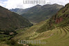 View of the Pisac Ruins in the sacred valley, near Cusco, Peru . © Victoria Schirinian/LATINPHOTO.org
