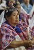 Guatemala : Indigenas en Misa en la Catedral de la Ciudad de Guatemala . / Indigenous woman. / Indigene Frau. © Inti Ocon/LATINPHOTO.org