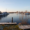 Arrived at the marina on Friday morning, hopeful of making the noon opening of the Portumna swing bridge and looking forward to a trip to Garrykennedy.  Gorgeous sunshine beaming down from a clear blue sky. This looks like the ultimate calm-water scene...NOT so!  The marina was totally iced......