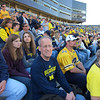 At the Iowa game before the loss
