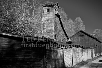 Derelict Building, Depot St - North Bennington VT
