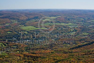 Eastern Vista From Mount Greylock - Adams MA