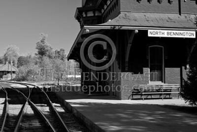 Train Station, Depot St - North Bennington VT