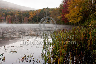 Woods Pond at Sunrise - Lenox MA