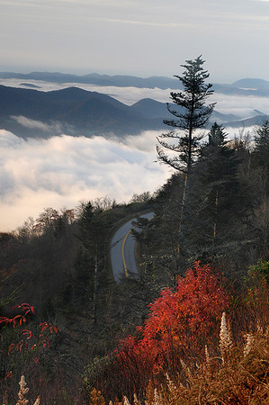 "November Competition 3 - 3rd Place - Class A - Assigned Category ""Unusual Perspective"" - Title: ""Highway to Heaven"" - Ed Wheeler"