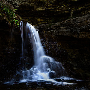 November Competition 3 - 2nd Place - Class A - Open Category - Title: McCormick's Creek Falls - Bob Thompson