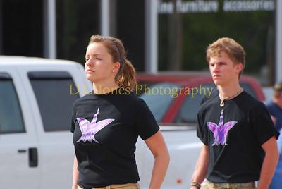 Camdenton High School marching band.