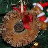 Fond Memories<br /> <br /> Saturday, November 27, 2010<br /> <br /> This ornament hung on my grandparents Christmas trees for as long as I can remember.  I don't know how old it is or who gave it to them but when the decision was made to sell their house and move in with my aunt and uncle, all of us were given the opportunity to choose an ornament and this was my pick.  When ever I see this it reminds me of the Christmases at their house.<br /> <br /> Hope you all had a great Thanksgiving and as we move into the Christmas holiday I hope that your heart finds it's home in the reason for the season, Jesus Christ.<br /> <br /> Have a blessed day.<br /> <br /> Pearl