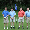 L to R: Mike Young, Jim Sutton, Dave Stonesifer and Dan Kennedy pose for a picture on the course.