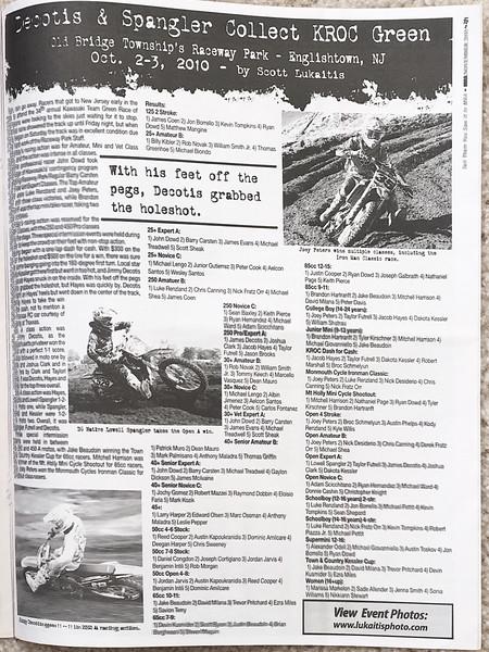 2010 Portfolio of Published Work
