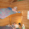 Our cozy cabin at Discovery Cabins in Hope.