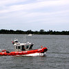 Since it was 9-11 the law was out pretty heavy.  Here is the Coast Guard doing their thing