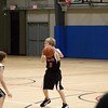 Cousin Spencer, at b-ball game
