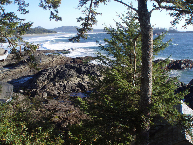 south of Tofino, on the Pacific Coast