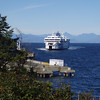 the ferry to Vancouver Island