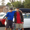 Dave and his friend Jon did the Coeur d'alene triathlon together in August