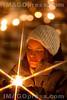 Die Aktion Eine Million Sterne wurde von der Caritas durchgefŸhrt und sollte ein Zeichen setzen fŸr SolidaritŠt und sozialen Zusammenhalt. Bild aus Sursee.