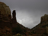 hoodoo, clouds