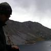 Lake Sabrina, silhouette