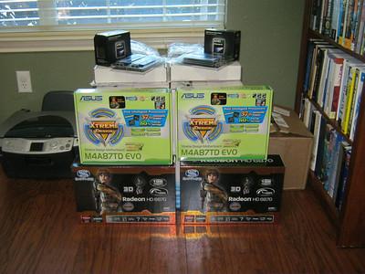 20101028 Twin PC build
