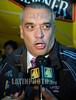 Ecuador : Richard Paez, director tecnico del seleccionado venezolano en el estadio Atahaulpa en la capital ecuatoriana Quito, Ecuador y Venezuela se enfrentaron en el primer dia de las eliminatorias sudamericanas para el campeonato mundial de futbol 2010 a disputrce en Sudafrica . / Ecuador: Richard Paez, Trainer von Venezuela. © Patricio Realpe/LATINPHOTO.org