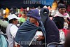 Ecuador : Sede del mercado artesanal indigena mas grande de Sudamerica . municipio de mayoria indigena mas rico de la Republica de Ecuador. turismo. sombrero. mujer indigena. / Market in Otavalo, showing the colourful fabrics. Town in the Imbabura Province of Ecuador. weaving textiles. / Ekuador: Indigener am Markt in Otavalo. Indigenas. Ureinwohner. Textiles Angebot. Ureinwohner. Tracht. Poncho. © German Falke/LATINPHOTO.org