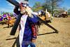 Nicaragua - Popoyuapa - Rivas: Carretas Pasionarias haladas por Bueyes o caballos provenientes de Masaya , Granada, Jinotepe, Pueblos blancos, Nandaime y Rivas realizan una caravana de fervientes hacia Popoyuapa por promesas de Jesus del Rescate . Esta tradicion tiene mas de 100 anos. carretas peregrinas. Cruz cristiana. / Pilgrimage to Popoyuapa. Eight-day wagon pilgrimage to the festival of Jesus the Rescuer in Rivas. / Nikaragua: Pilger ziehen mit geschmückten Ochsenkarren nach Popoyuapa wo sie ein Bild von Jesus verehren. Katholiken. Brauchtum. Religion. Folklore. © Inti Ocon/LATINPHOTO.org