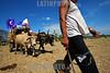 Nicaragua - Popoyuapa - Rivas: Carretas Pasionarias haladas por Bueyes o caballos provenientes de Masaya , Granada, Jinotepe, Pueblos blancos, Nandaime y Rivas realizan una caravana de fervientes hacia Popoyuapa por promesas de Jesus del Rescate . Esta tradicion tiene mas de 100 anos. carretas peregrinas. / Pilgrimage to Popoyuapa. Eight-day wagon pilgrimage to the festival of Jesus the Rescuer in Rivas. / Nikaragua: Pilger ziehen mit geschmückten Ochsenkarren nach Popoyuapa wo sie ein Bild von Jesus verehren. Katholiken. Brauchtum. Religion. Folklore. © Inti Ocon/LATINPHOTO.org