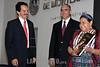 Mexico:Qro . La ganadora del Premio Nobel de la Paz Rigoberta Menchu estuvo en el estado de Qro. en una conferencia para el ITESM a lado del Sr. gobernado Jose Calzada Rovirosa. / Rigoberta Menchu Tum during a conference in Queretaro. / Mexiko: Die guatemaltekische Menschenrechtsaktivistin Rigoberta Menchu Tum während einer Konferenz in Queretaro. © Nayeli Rosas Bejarano/LATINPHOTO.org