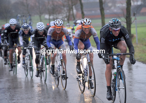 Hunt's move has put about 14 men in front with the Matthias trio - led now by Ian Stannard...