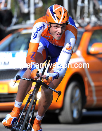 Lars Boom was the biggest surprise today - the Dutch all-rounder won the Prologue at an average speed of nearly 44-kilometres-per-hour...