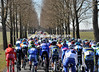 It may look like Paris-Tours, but in fact Paris-Nice is using the same road this morning..!