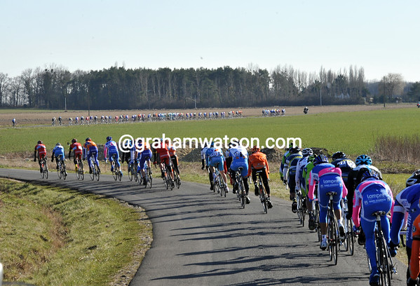 Count the groups - three, four or even five splits as the road and wind take their effect...