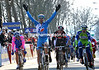 William Bonnet wins stage two into Limoges - note Peter Sagan in second place and Luis Leon Sanchez in third: Sanchez takes 3rd overall away from David Millar...